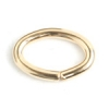 Gold Filled 14kt Jump Ring Oval 6.4x9.6mm